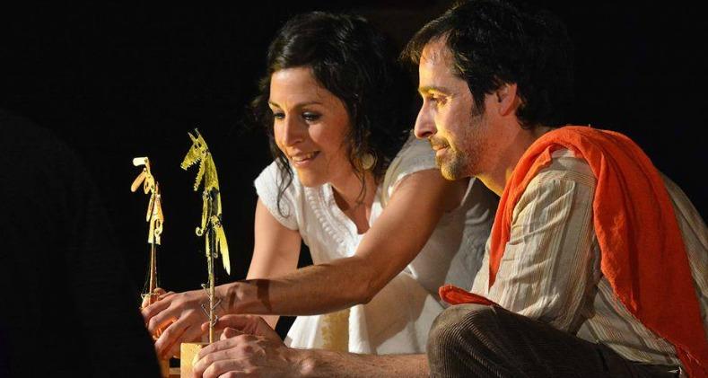 La liebre y la zorra, teatro de sombras este sábado en Teatrea