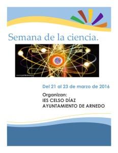 Semana de la ciencia y la tecnologia en Arnedo