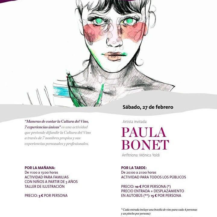 Taller en Vivanco con Paula Bonet