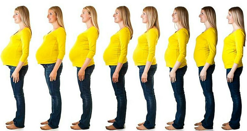 Como quitar la flacidez del vientre despues del embarazo