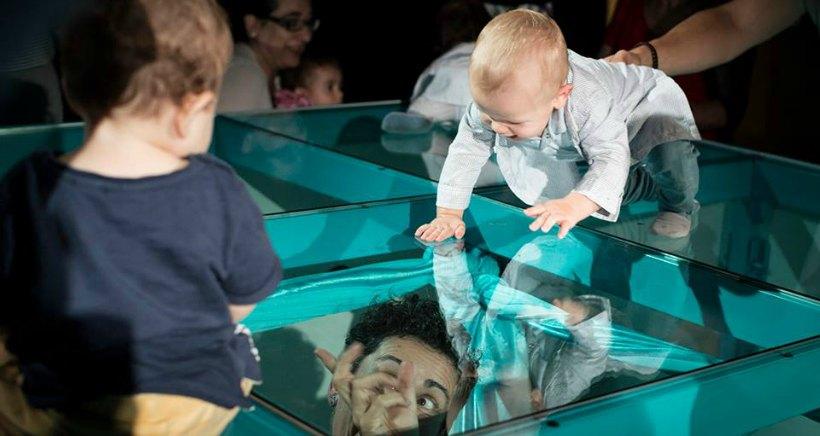 Teatrea a pares: el sábado, títeres y el domingo, danza para bebés