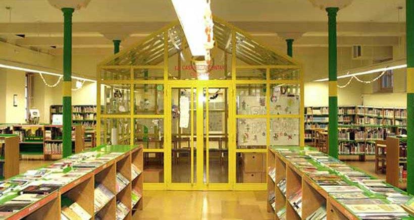 Biblioteca de la rioja. infantil