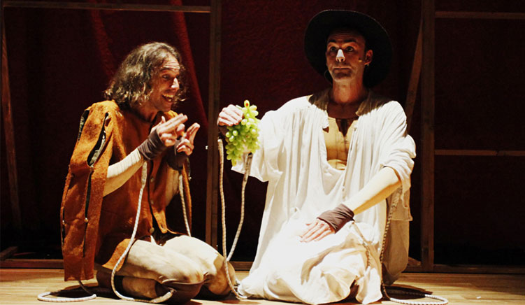 'Lazarillo', teatro de títeres y actor, este domingo en Teatrea