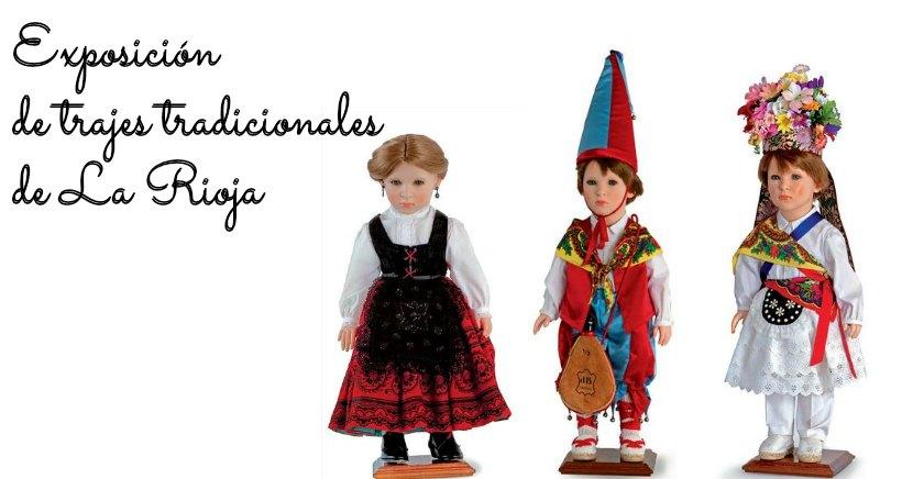 Exposición de trajes tradicionales de La Rioja, en miniatura
