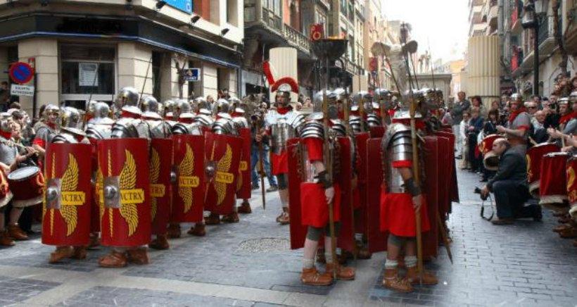 Viaja a la antigua Roma en el Mercaforum de Calahorra