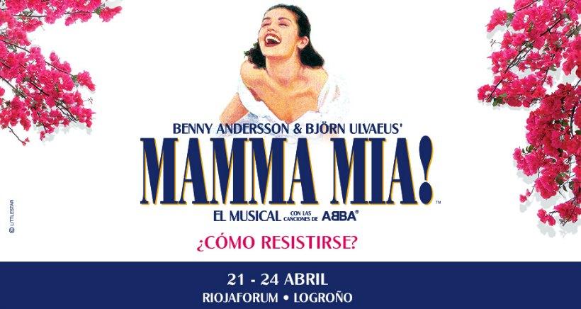 Musical de Mamma Mía, un gran espectáculo para toda la familia, en Riojaforum