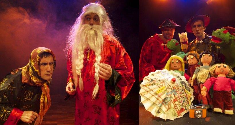 El domingo, programa doble de teatro infantil en la sala Gonzalo de Berceo