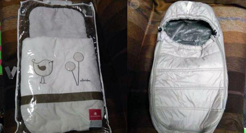 Se vende: dos sacos para capazo de segunda mano (verano e invierno)