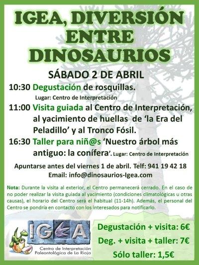 Visita guiada yacimiento huellas de dinosaurio