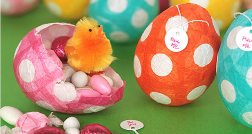 Taller bilingüe con huevos de Pascua 'Easter egg hunt', en CEI Dreams
