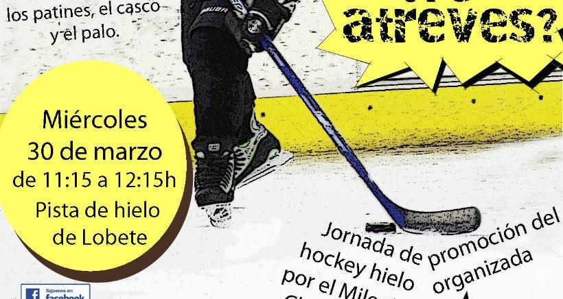 Aprende hockey hielo con el Milenio Club Patín