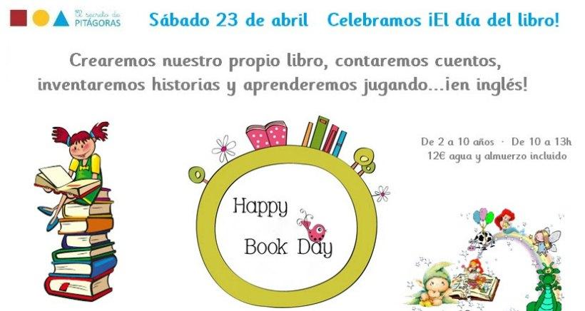 Celebra el Día del Libro en los talleres de Pitágoras