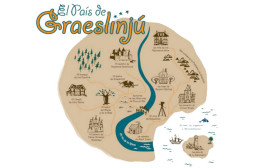 'El País de Graeslinjú', una exposición sobre los grandes escritores de literatura infantil y juvenil.