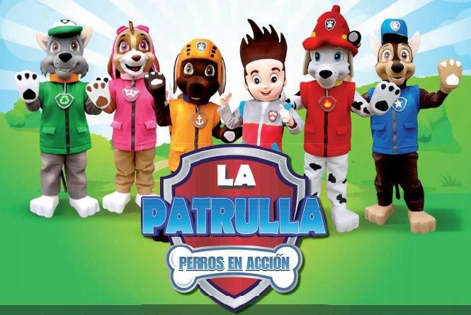 La Patrulla Canina visitará Las Cañas el viernes 15 de abril
