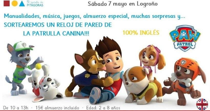 Taller en inglés con los personajes de La Patrulla Canina