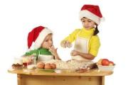 Cocina de Navidad para niños en los talleres de la Plaza de Abastos