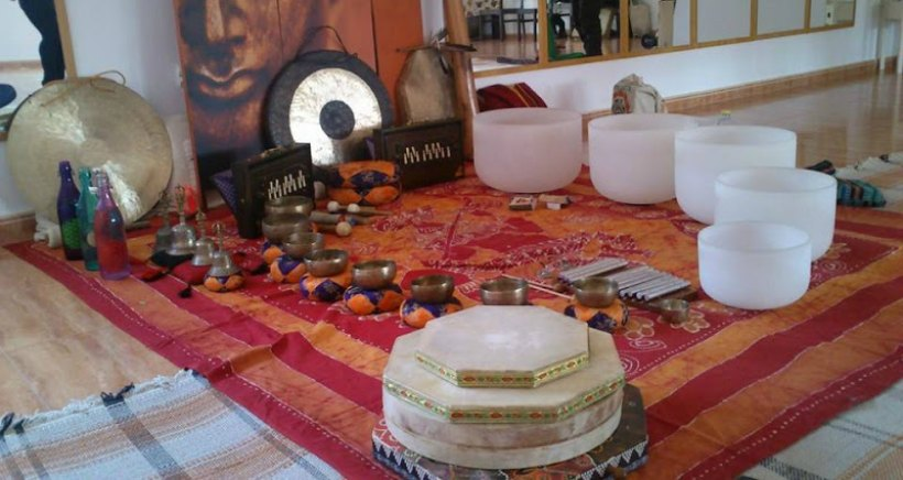 Concierto de cuencos tibetanos para niños