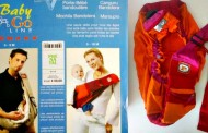 Se vende: mochila bandolera portabebé de segunda mano