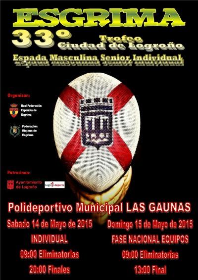 33º Torneo Ciudad de Logroño de Esgrima