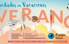Actividades para el verano en Dinámica Teatral