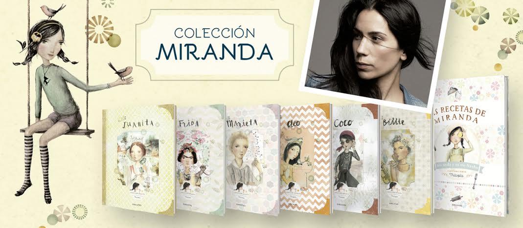 Colección Miranda: biografías de mujeres destacadas de la historia contadas para niños
