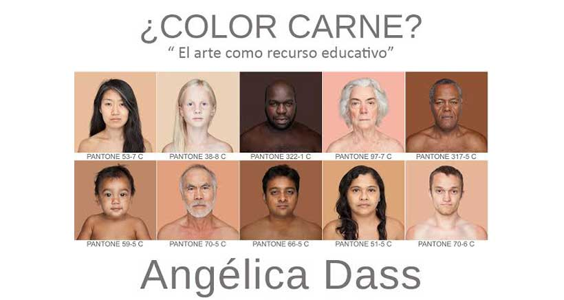 ¿Color carne? El arte como recurso educativo, con la artista Angélica Dass