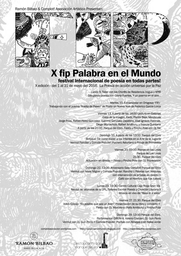 Festival Internacional de Poesia 2016 La Rioja