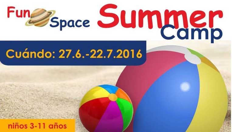 Apúntate al Summer Camp de la academia de inglés Fun Space