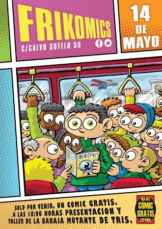 Taller infantil de caricaturas con Tris, en Frikomics
