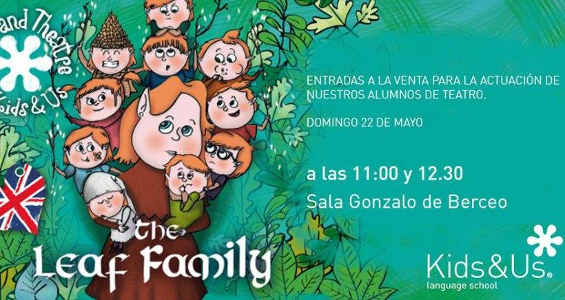 Teatro infantil en inglés en la sala Gonzalo de Berceo