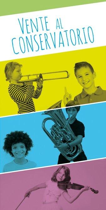 folleto conservatorio musica La Rioja