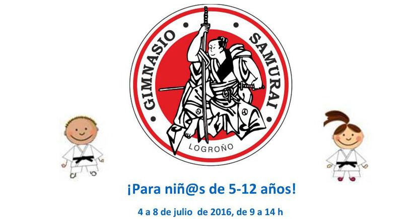 Deporte y diversión en gimnasio Samurai: Judo, Kárate, inglés, manualidades y música