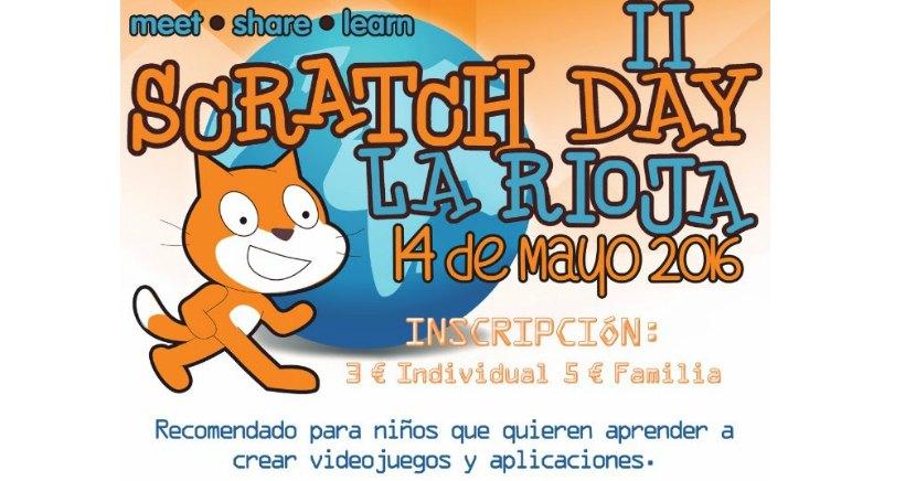 Aprende a programar videojuegos en familia, en el II Scratch Day La Rioja