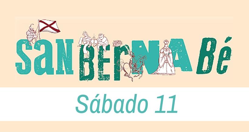 Sábado, 11 de junio. Programa de Fiestas de San Bernabé 2016