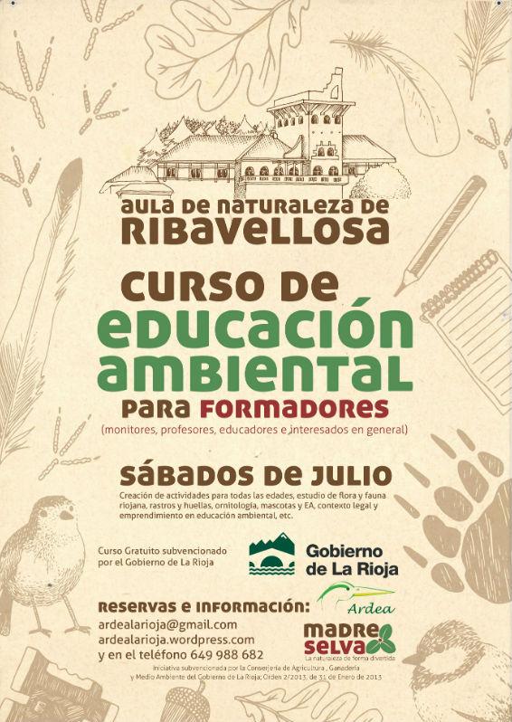 Curso gratuito de Educacion Ambiental en Ribavellosa
