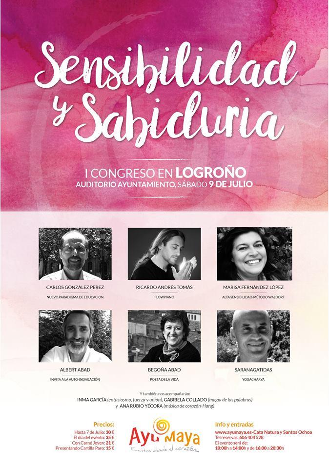 I-Congreso-Sensibilidad-y-Sabiduria-AyuMaya-Logrono cartel