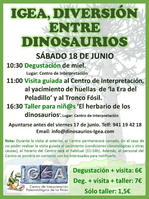 Igea dinosaurios 18 junio