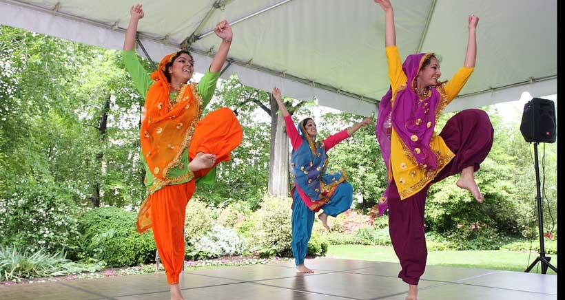Taller de Bhangra, danza india para niños en Logroño