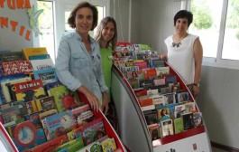 'Bibliopiscina', la nueva biblioteca de Las Norias
