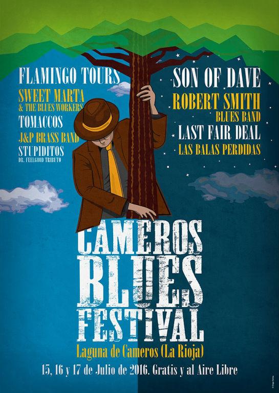 Cartel Cameros Blues Festival 2016