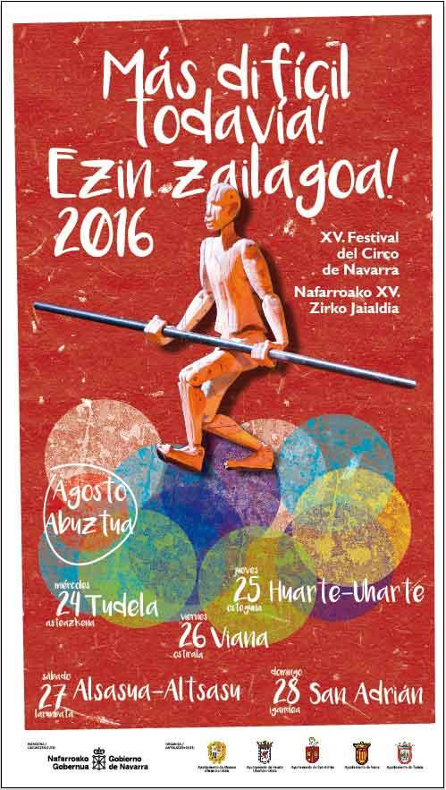 Cartel-Festival-de-Circo-de-Navarra-Mas-dificil-todavia-2016