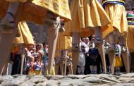 Excursión con niños para conocer la Danza de los Zancos de Anguiano