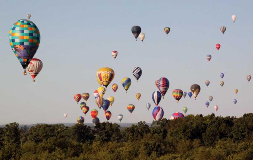 Regata de globos aerostáticos en Haro