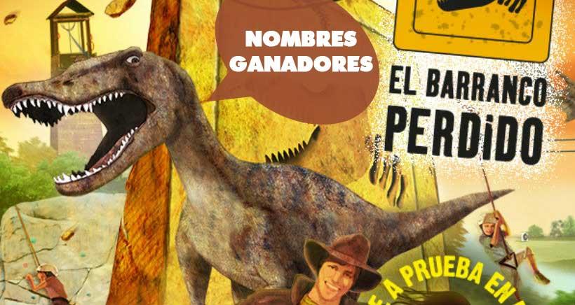 Ganadores del concurso de entradas para visitar El Barranco Perdido