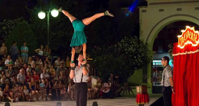 El Festival de Circo de Navarra llega a Viana