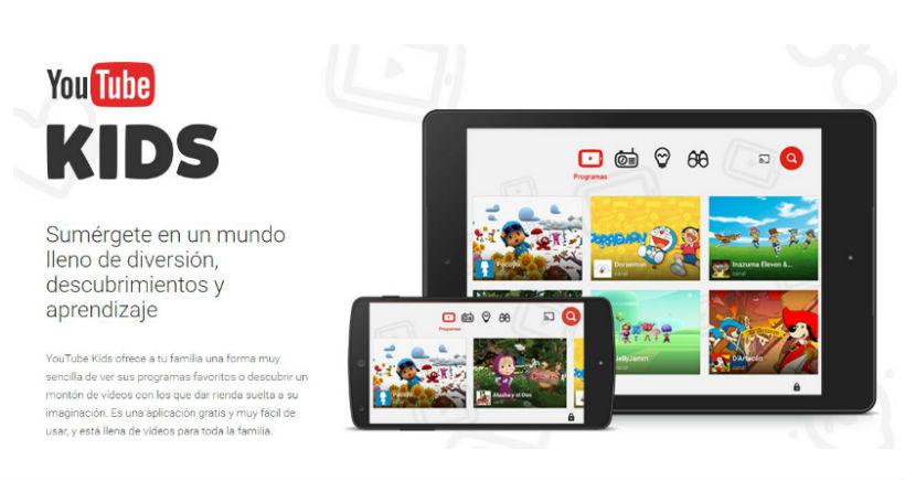 Descarga YouTube Kids en el móvil… y despídete de tu teléfono