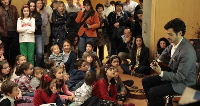 Encuentro familiar con Pablo Sainz Villegas, este sábado en Vivanco Kids
