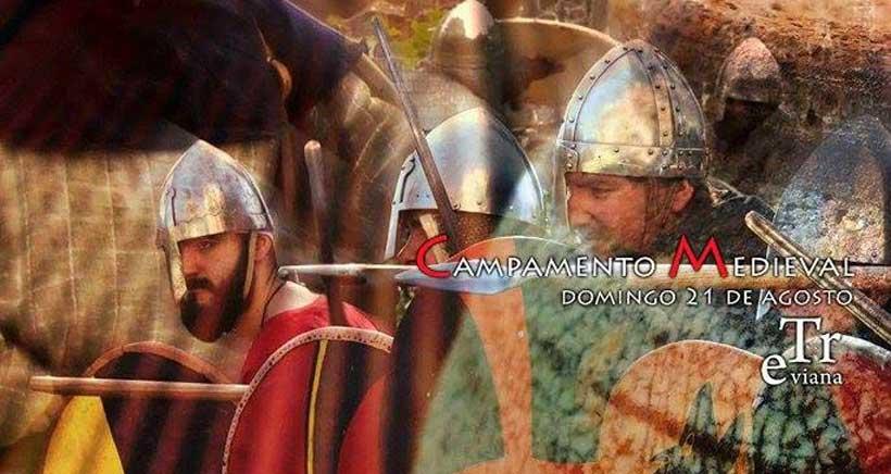 Conviértete en caballero en la fiesta medieval de Treviana