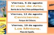 Cine al aire libre y actividades para niños en verano en Arnedo