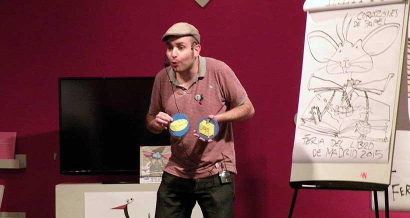Cuentacuentos para niños en Logroño con el escritor Niño Cactus